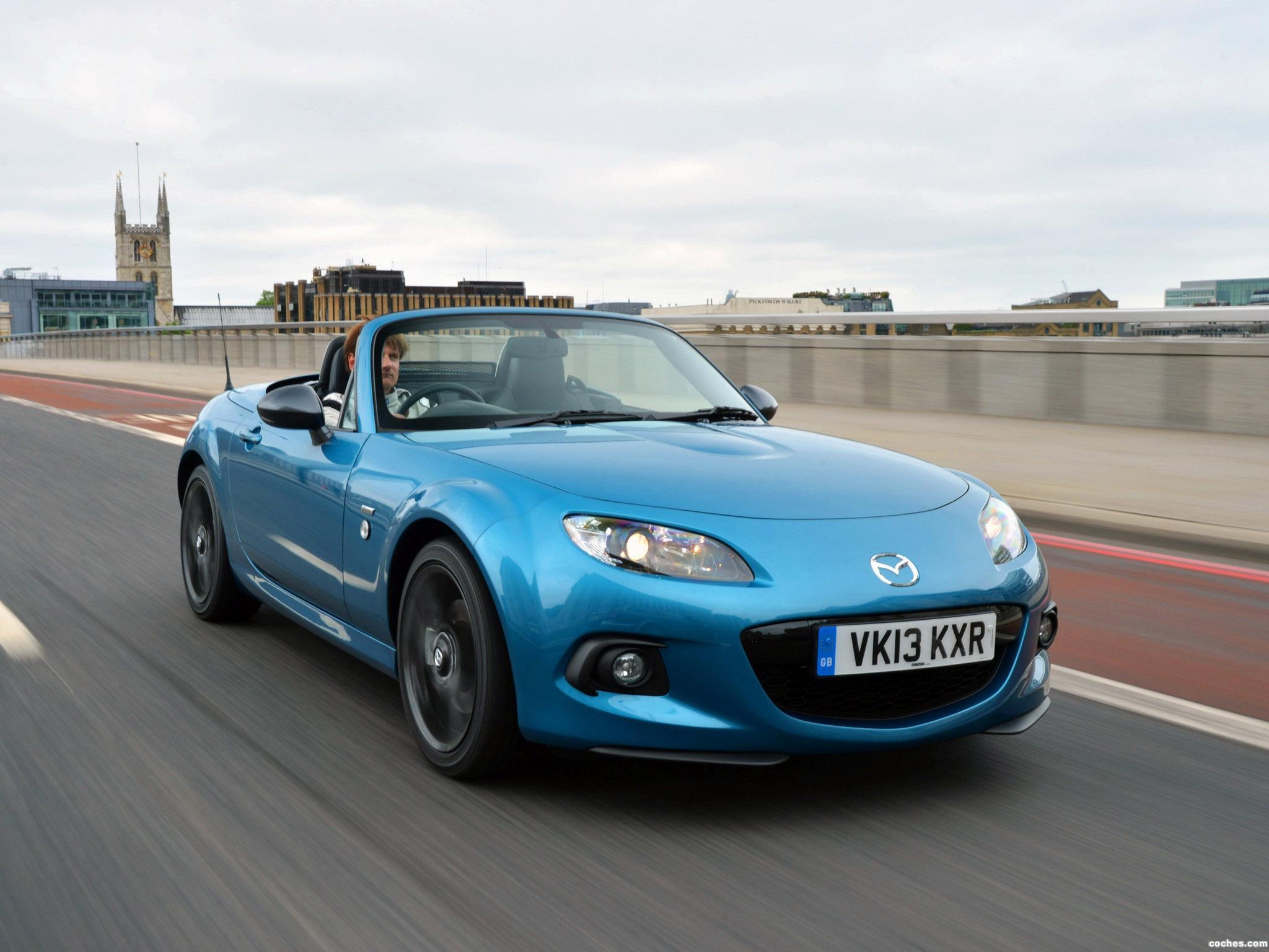Foto 11 de Mazda MX-5 Sport Graphite Limited Edition UK 2013