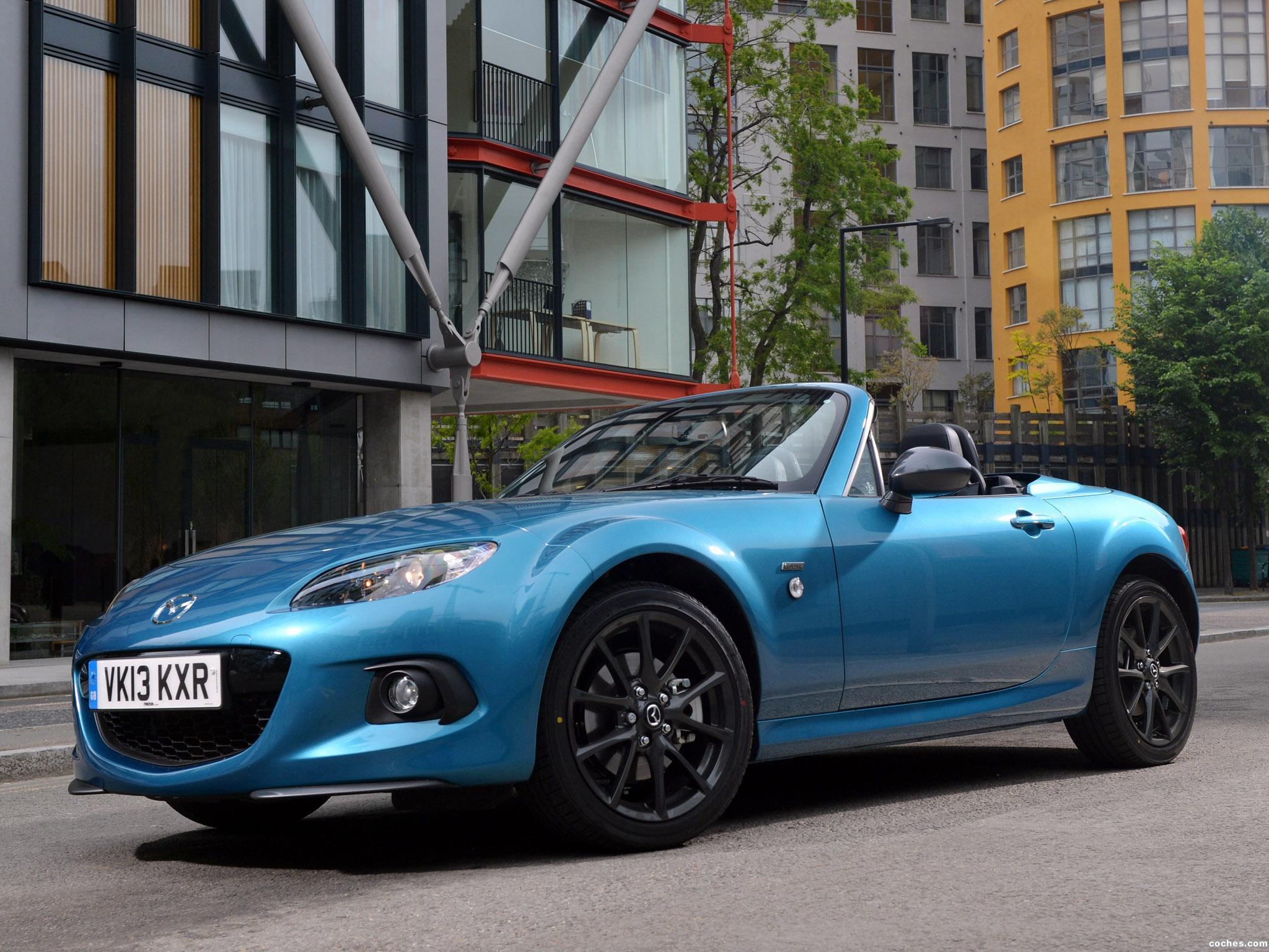 Foto 2 de Mazda MX-5 Sport Graphite Limited Edition UK 2013