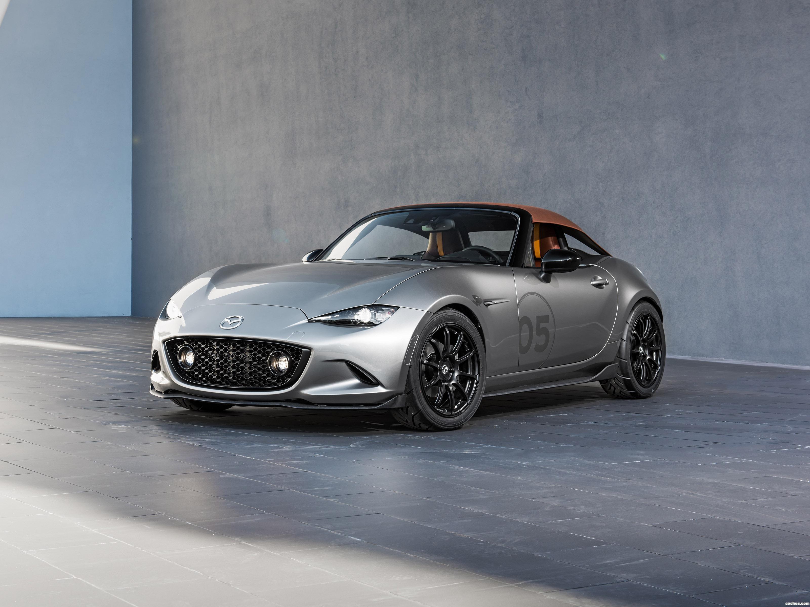 Foto 0 de Mazda MX-5 Spyder Concept 2015