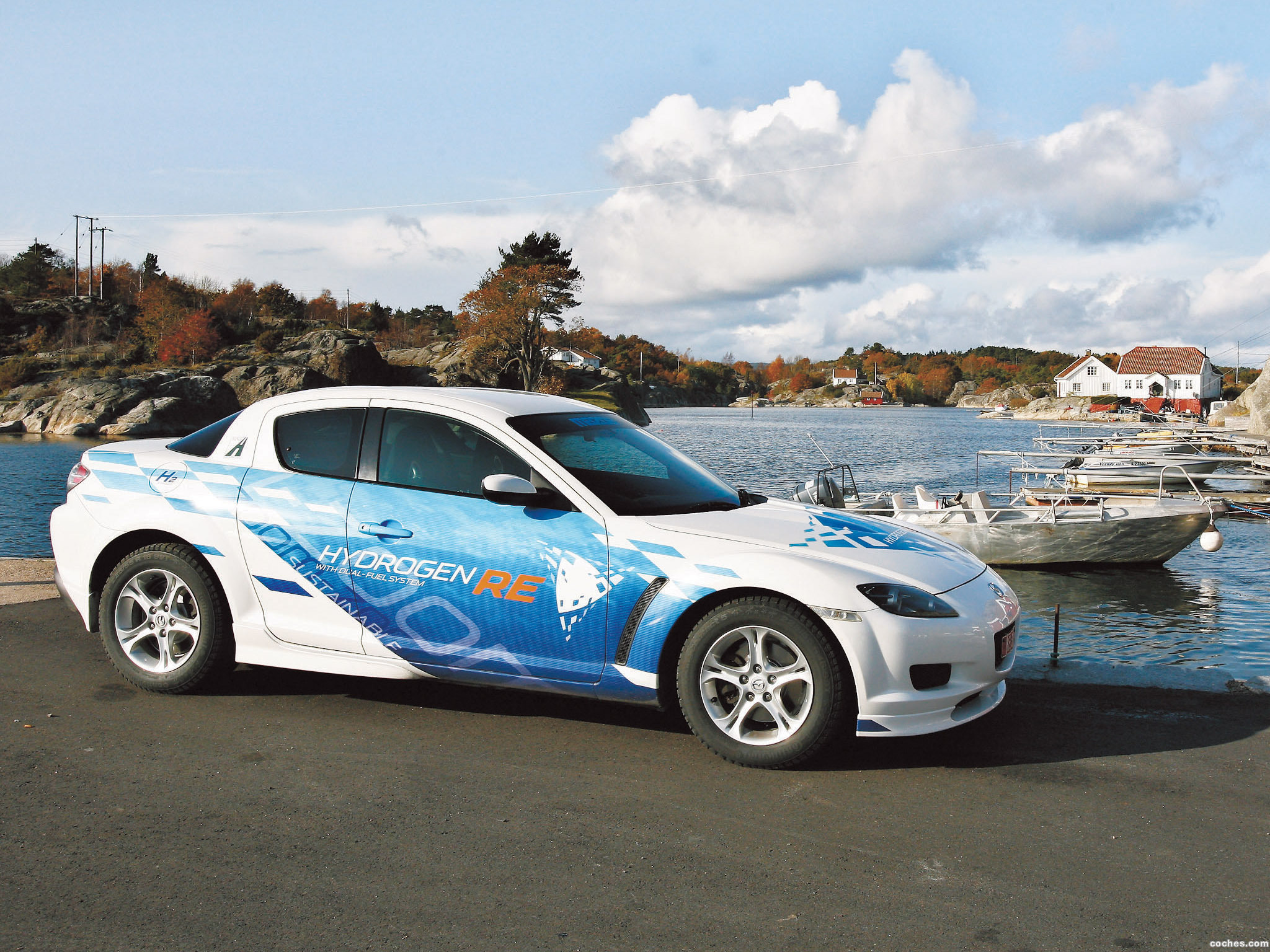 Foto 7 de Mazda RX-8 Hydrogen Re Dual Fuel System 2009