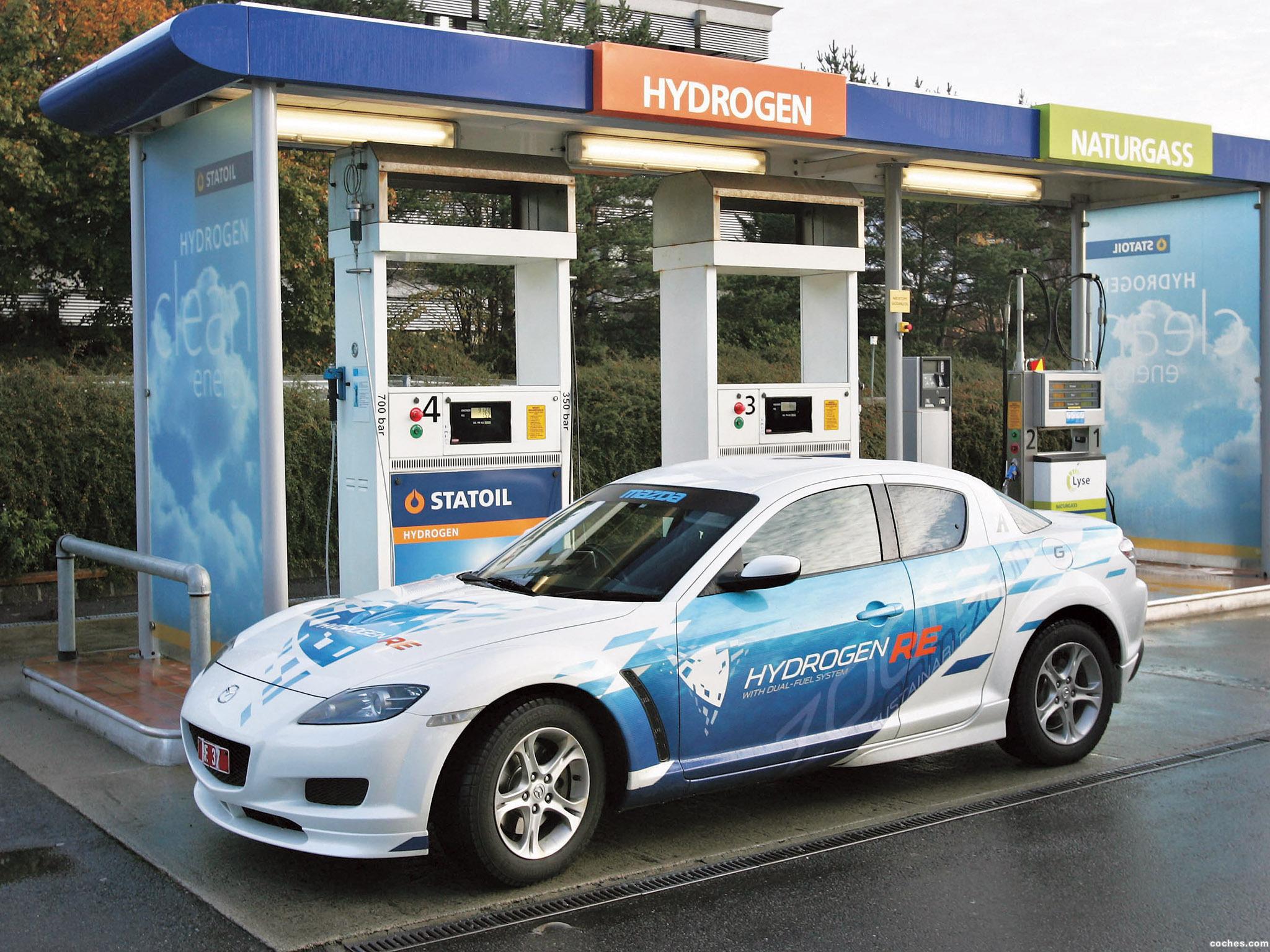 Foto 6 de Mazda RX-8 Hydrogen Re Dual Fuel System 2009