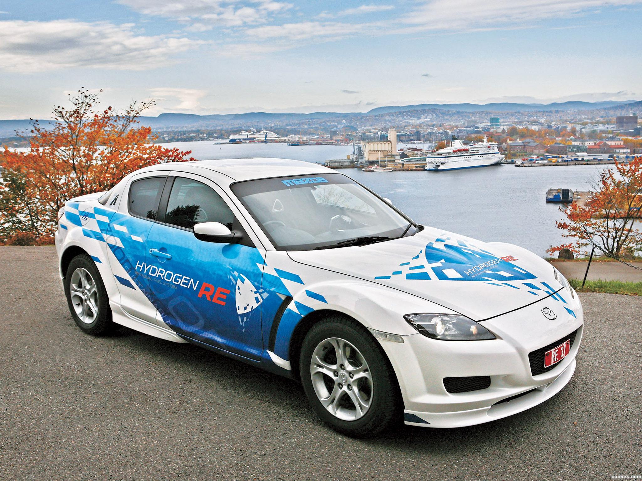 Foto 0 de Mazda RX-8 Hydrogen Re Dual Fuel System 2009