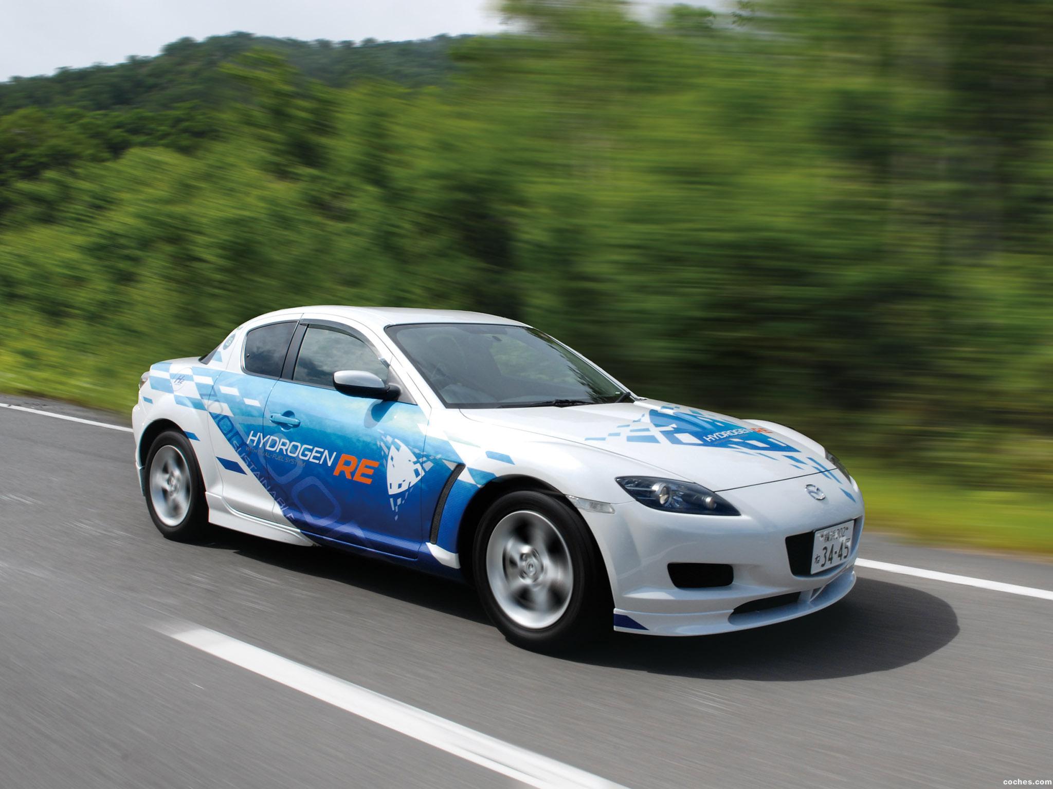 Foto 11 de Mazda RX-8 Hydrogen Re Dual Fuel System 2009