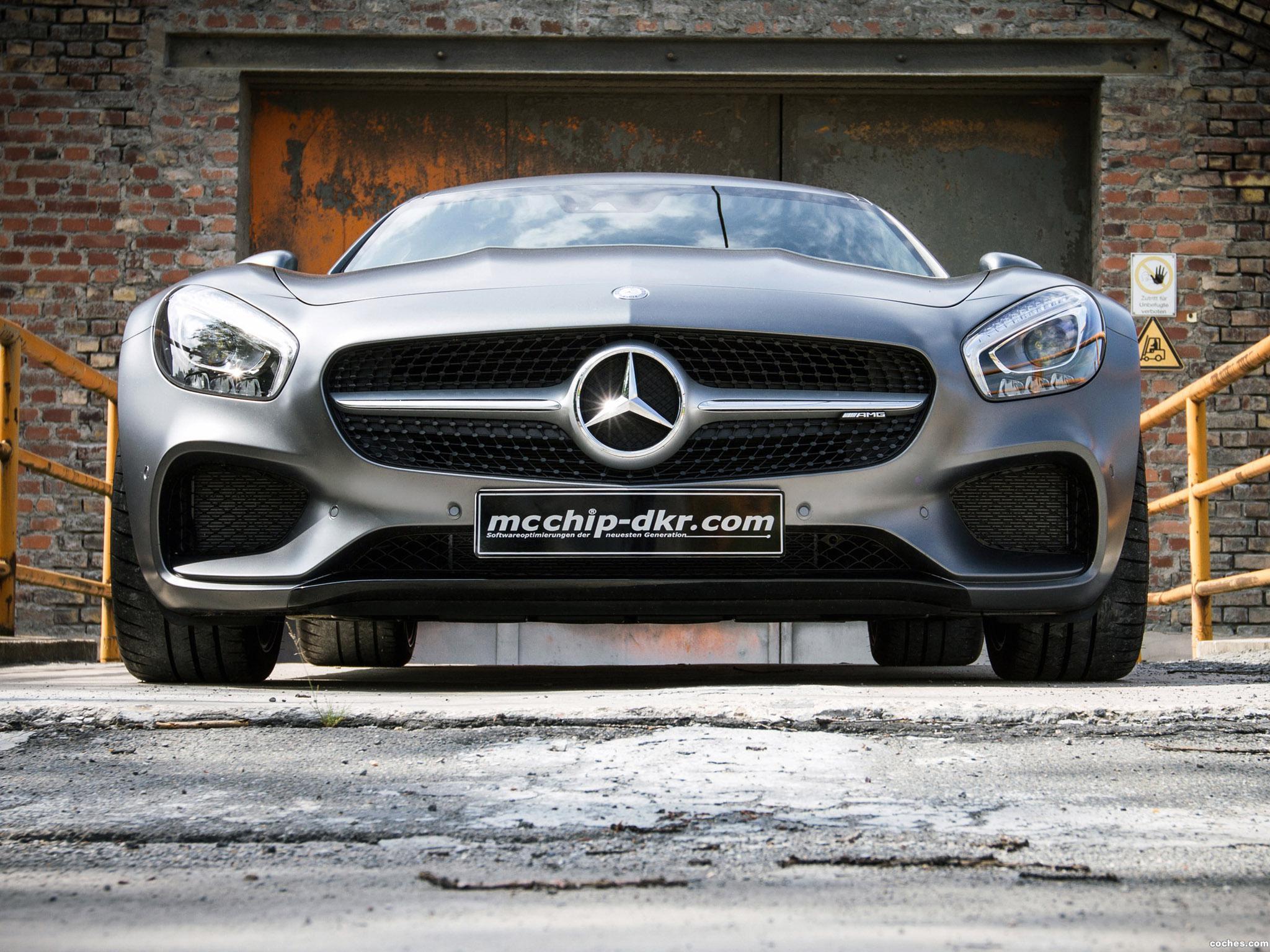 Foto 3 de McChip-DKR Mercedes AMG GT S C190 2015