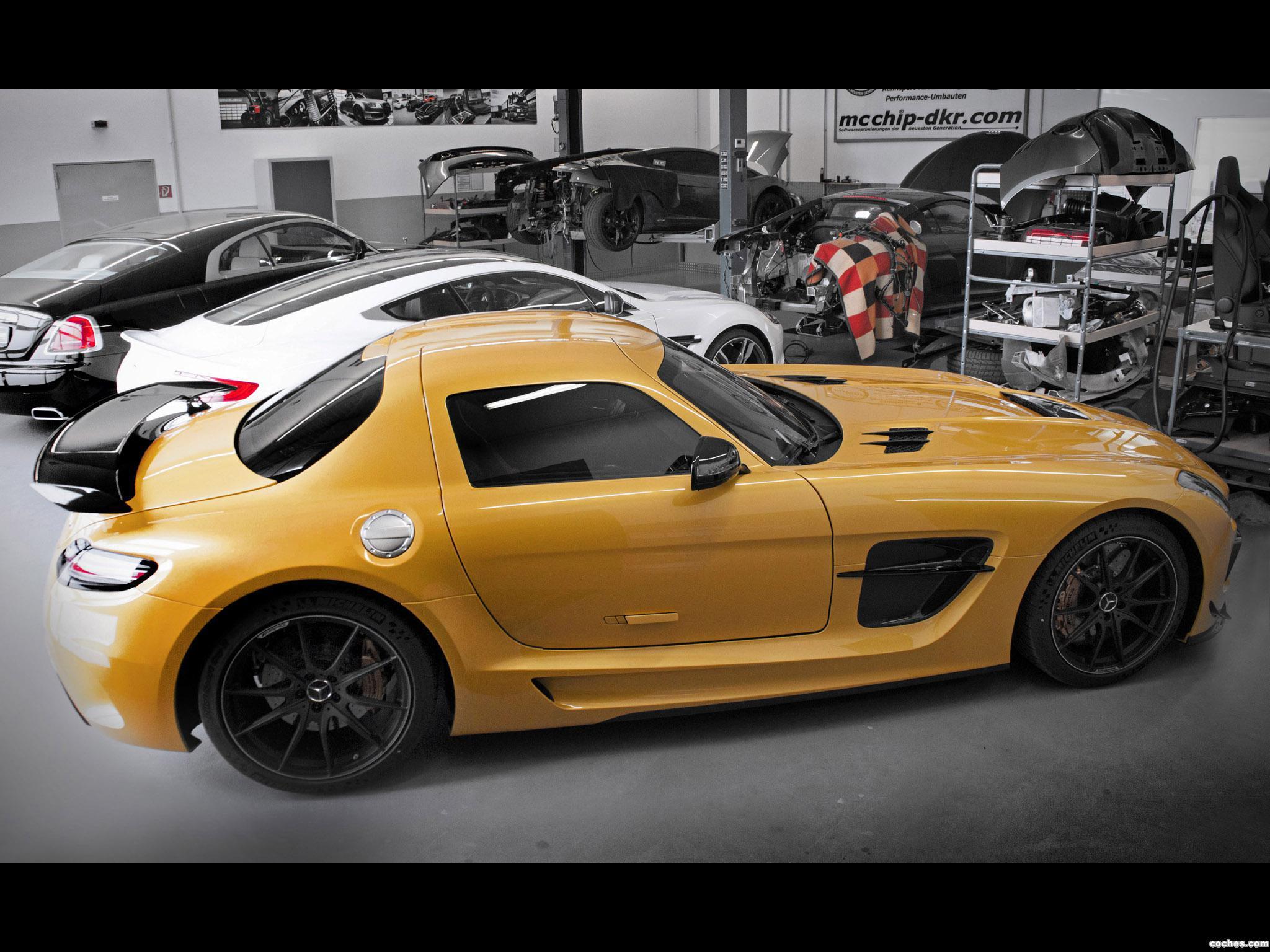 Foto 3 de MC Chip Dkr Mercedes AMG Clase SLS 2014