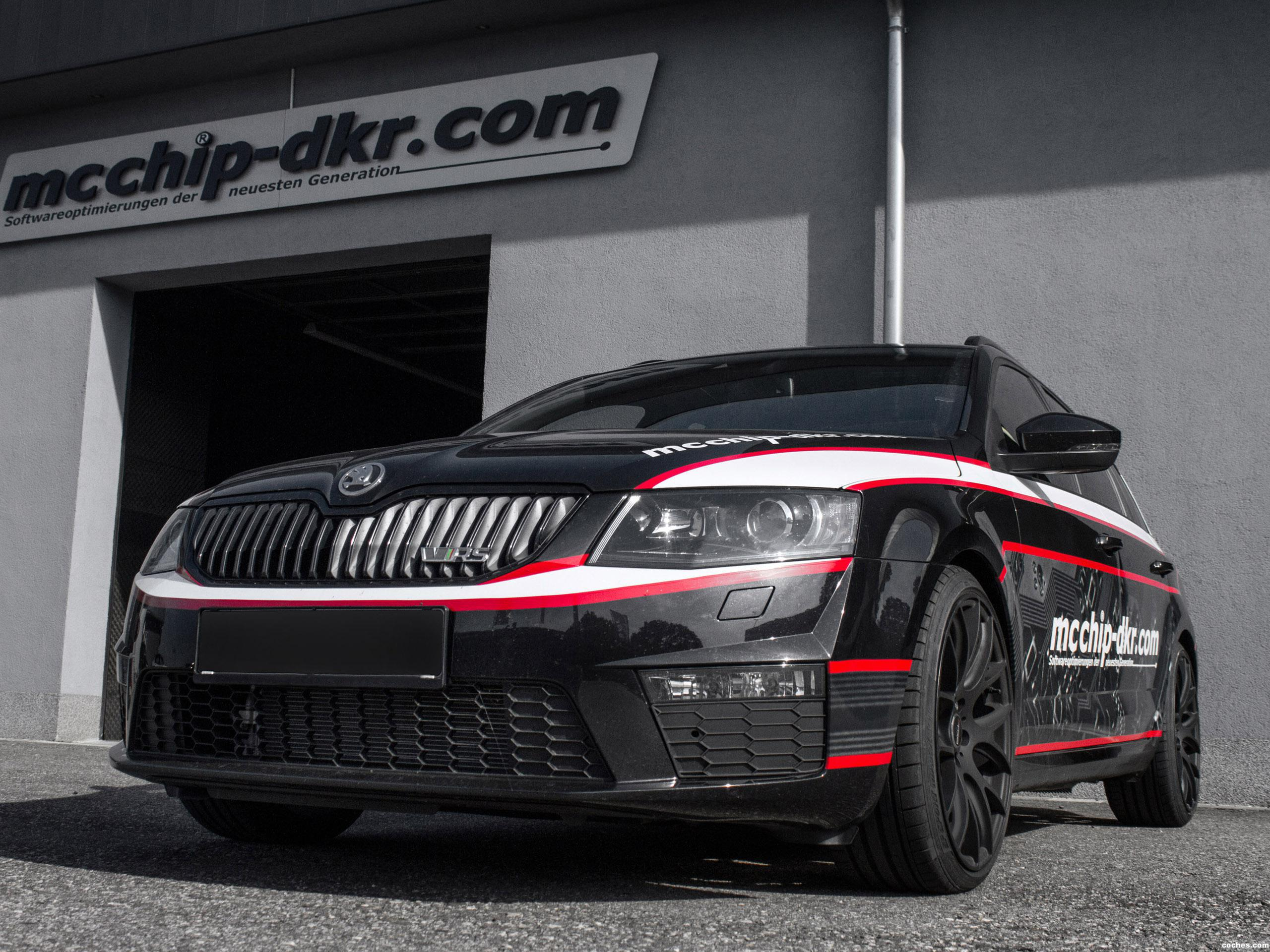 Foto 0 de Skoda MC Chip Dkr Octavia RS Wagon 2014