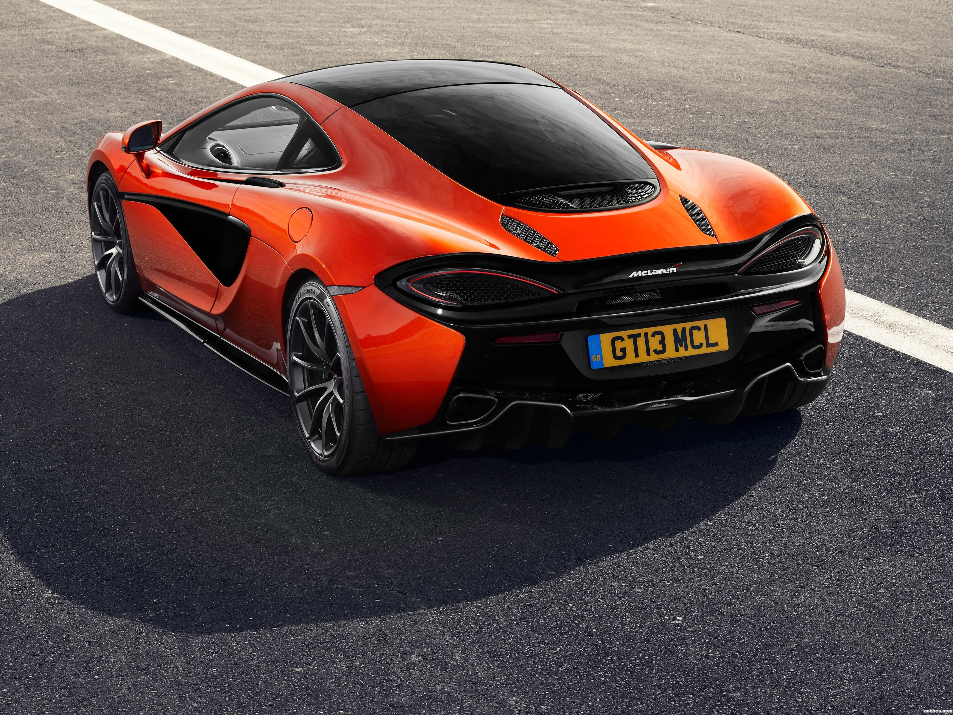 Foto 2 de McLaren 570GT Black Pack UK 2018