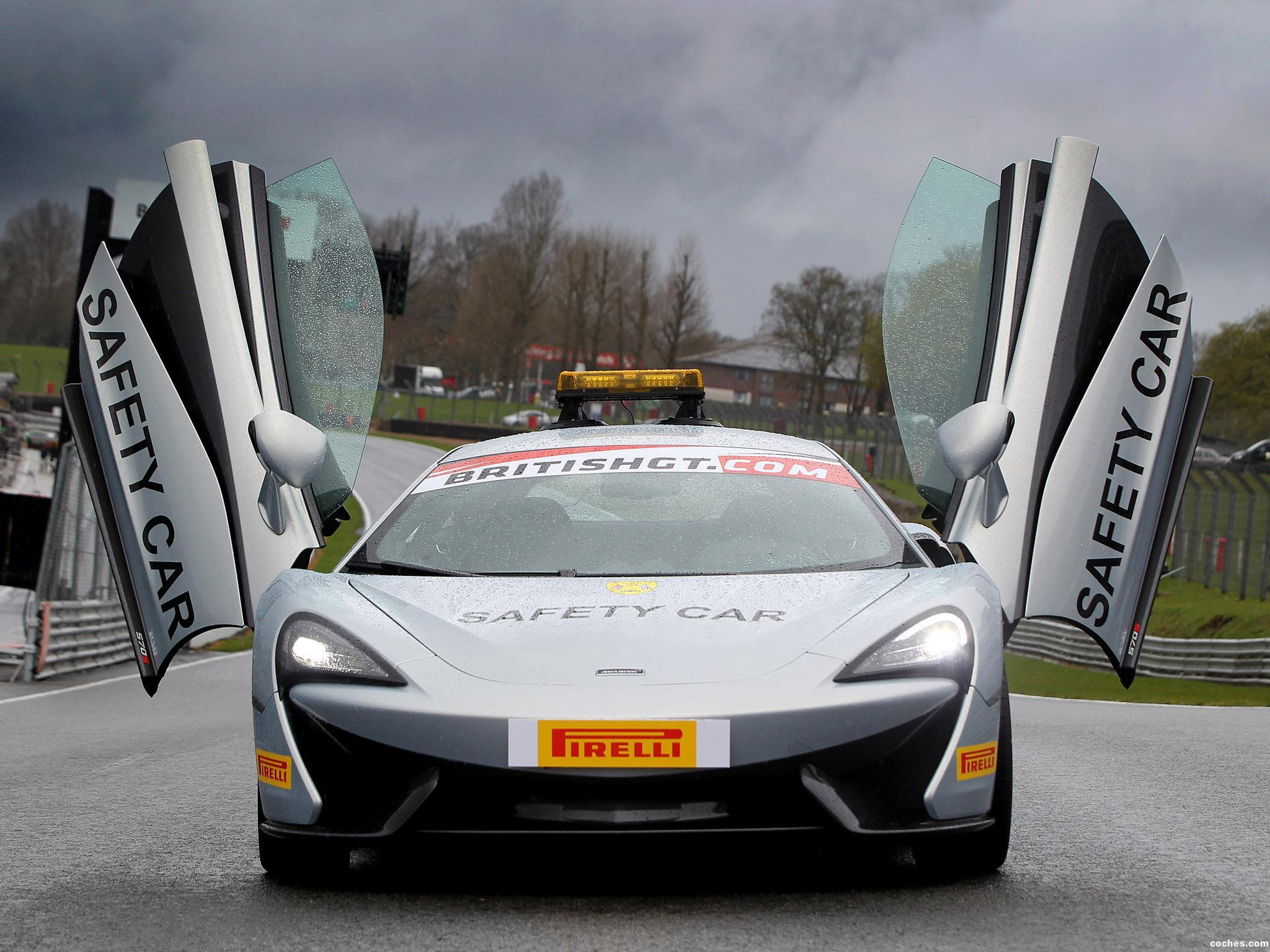 Foto 0 de McLaren 570S Coupe British GT Championship Safety Car 2016