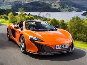 Fotos de McLaren 650S Spyder UK 2014