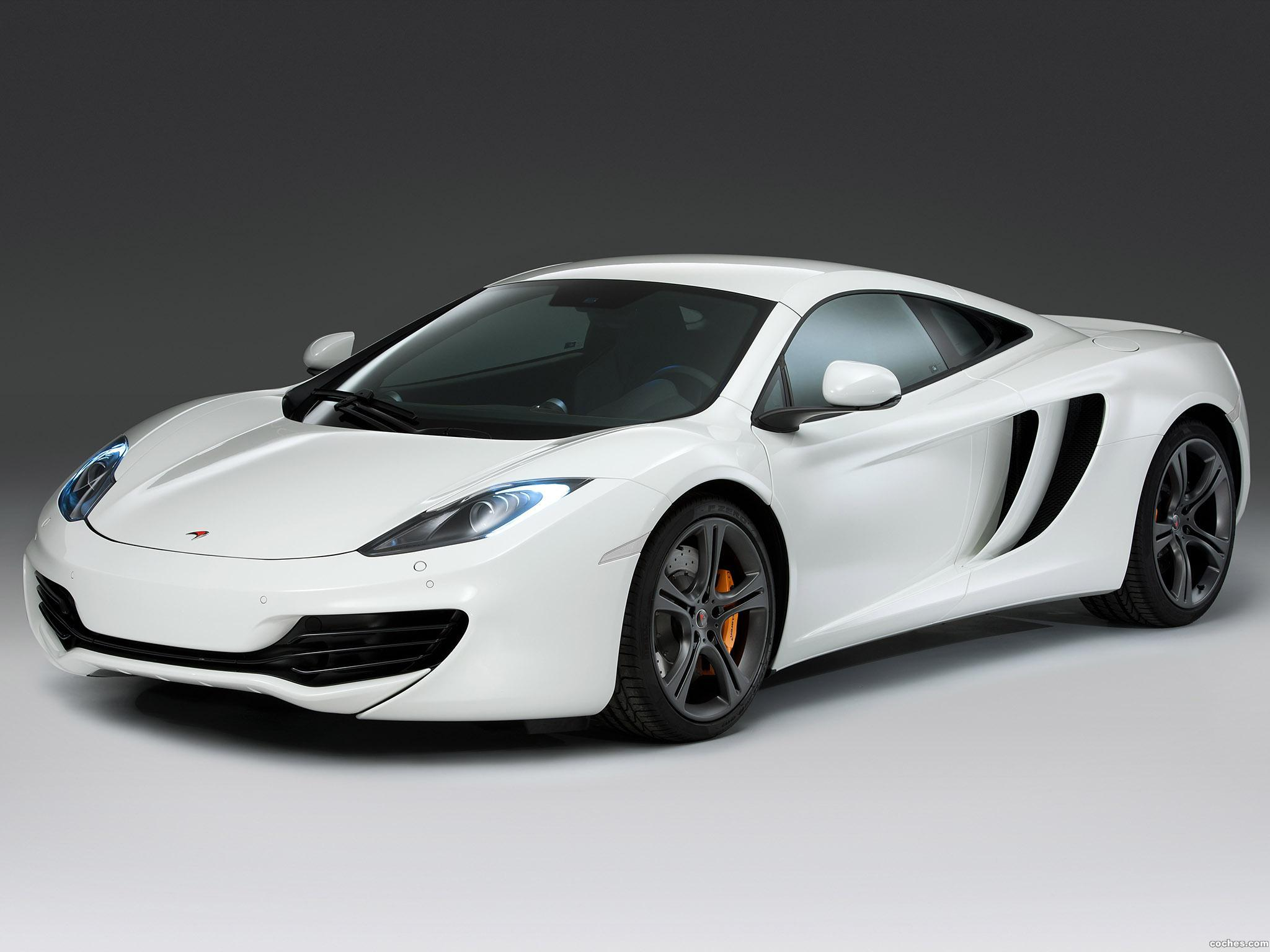 Foto 0 de McLaren MP4 12C White Edition 2011