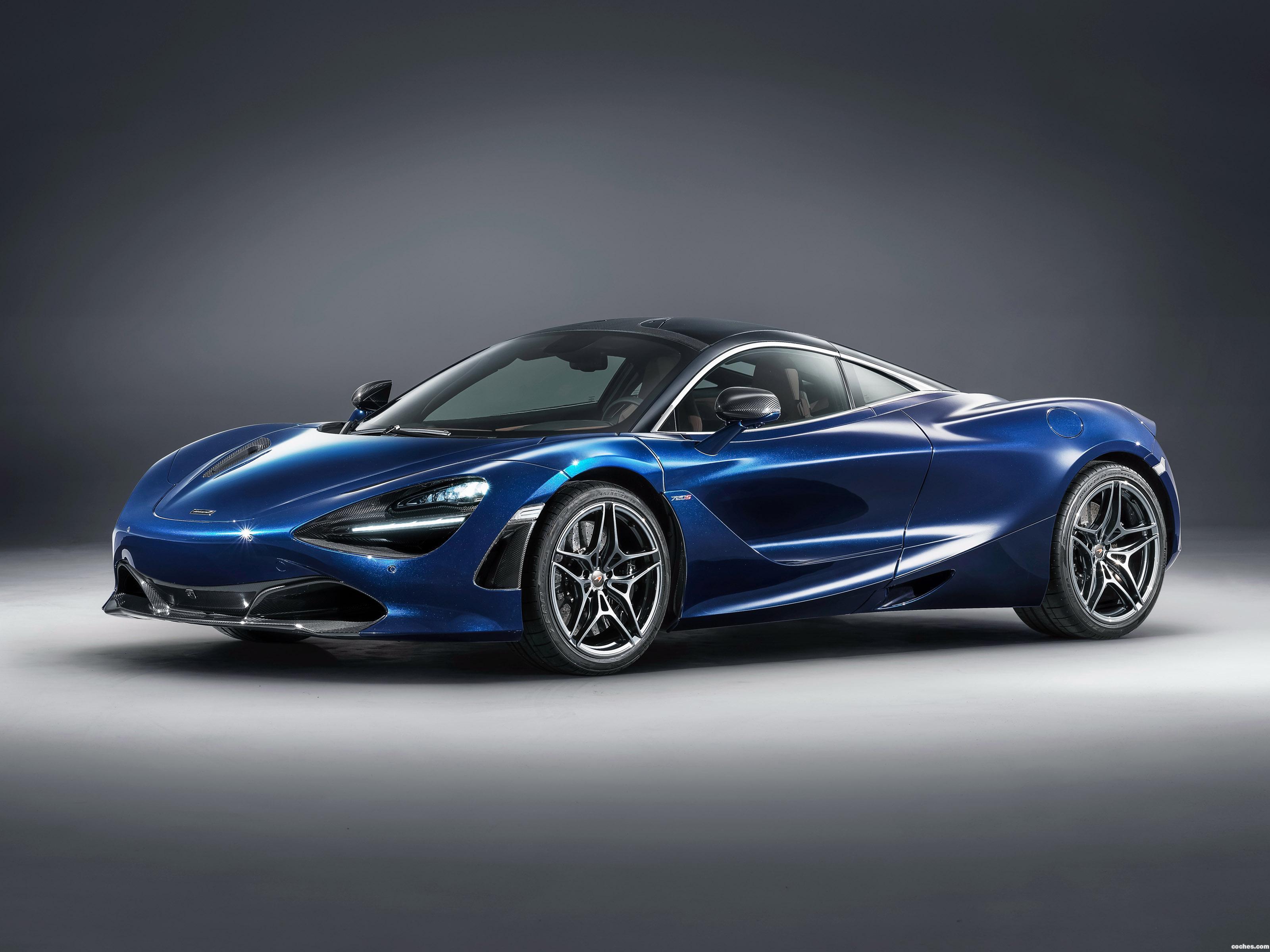 Foto 0 de McLaren 720S Atlantic Blue by MSO 2018