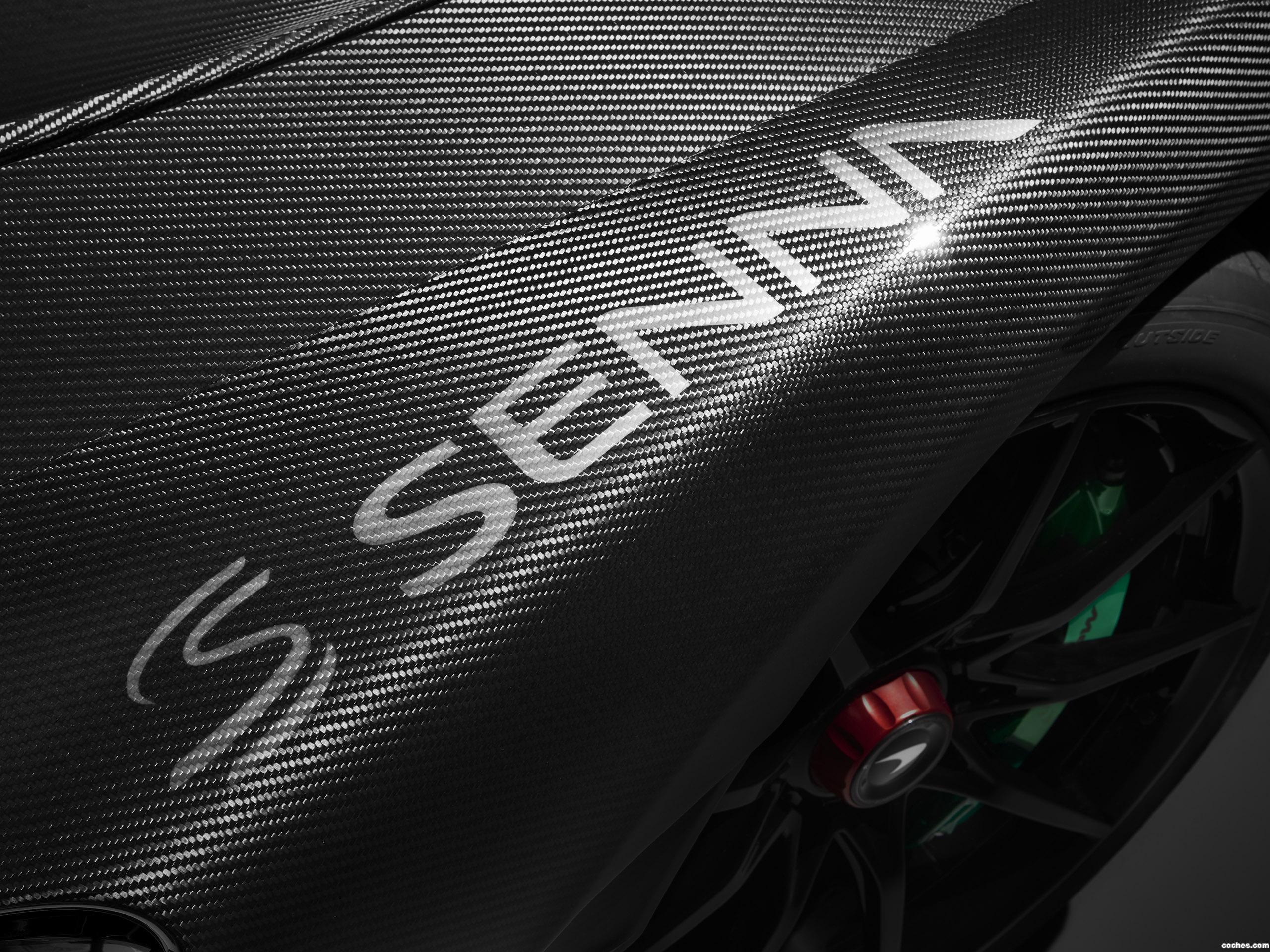 Foto 2 de McLaren Senna Carbon Theme by MSO 2018