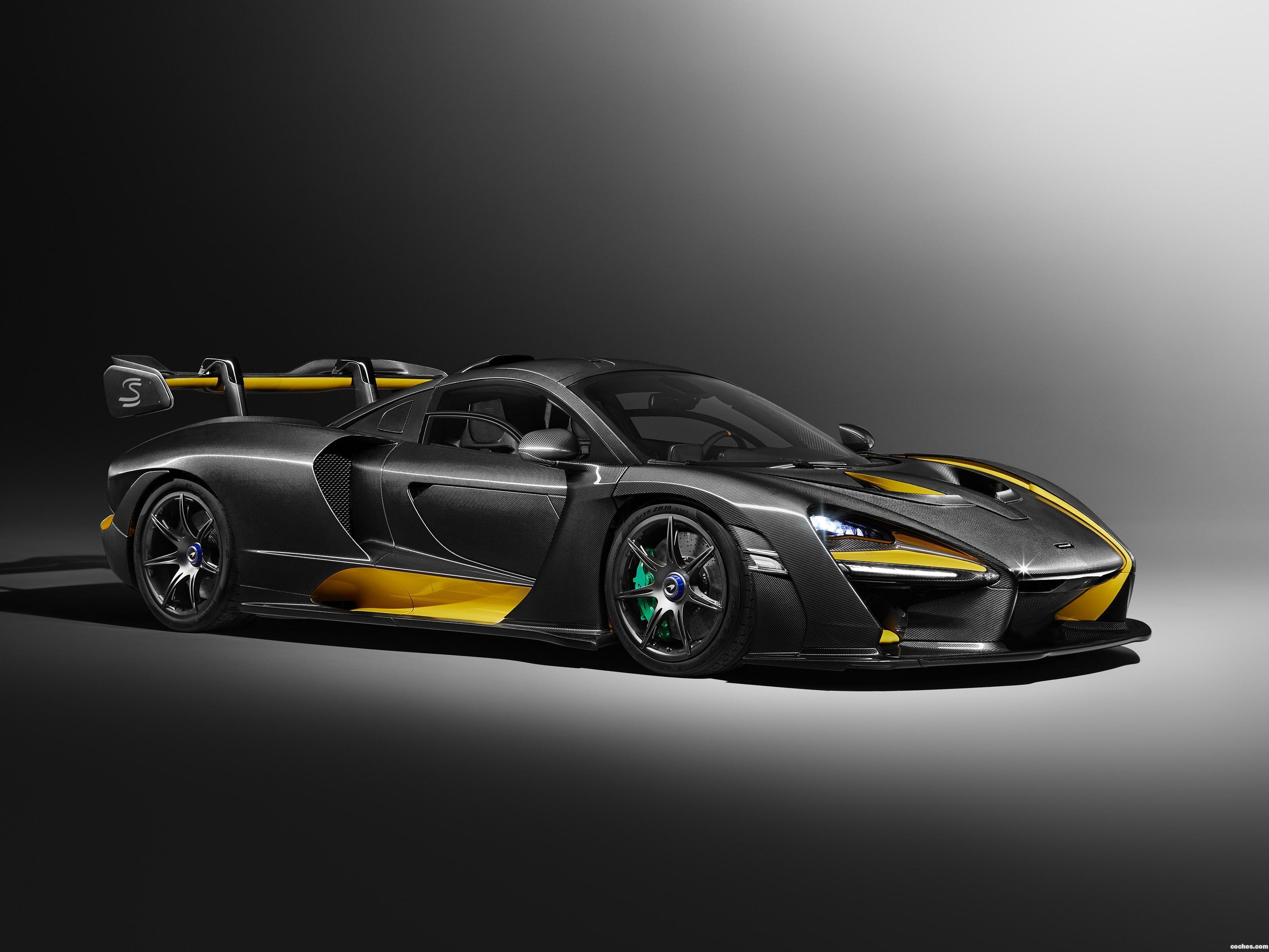 Foto 0 de McLaren Senna Carbon Theme by MSO 2018
