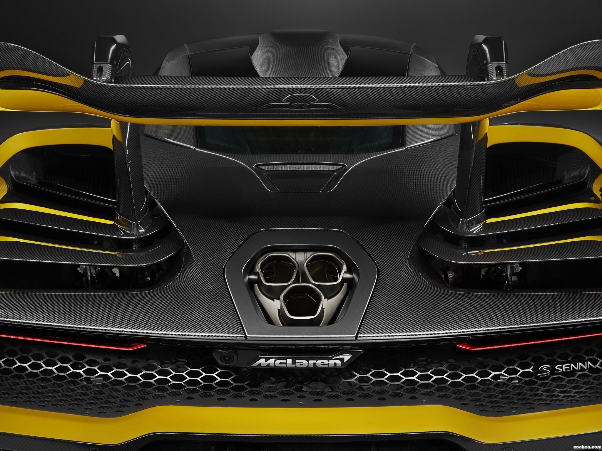 Foto 6 de McLaren Senna Carbon Theme by MSO 2018