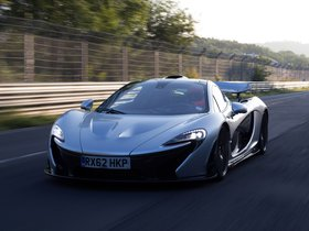 Fotos de McLaren P1 Nurburgring Test Car 2013