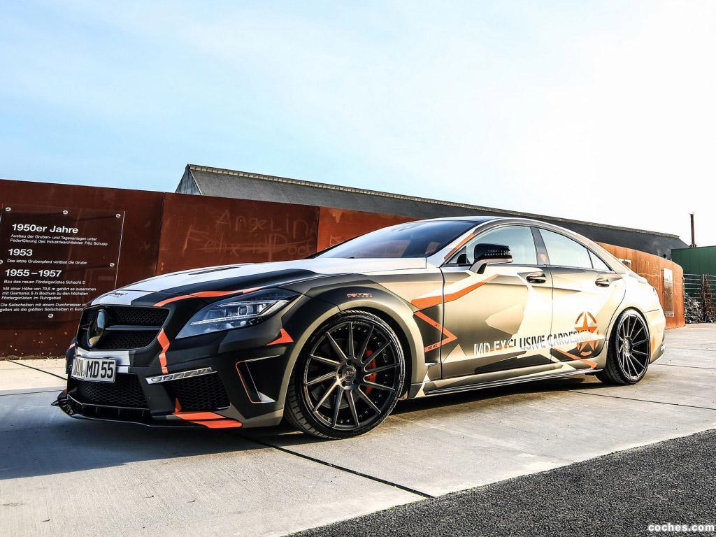 Foto 0 de MD Exclusive Mercedes CLS 500 Black Edition Stealth C218 2016
