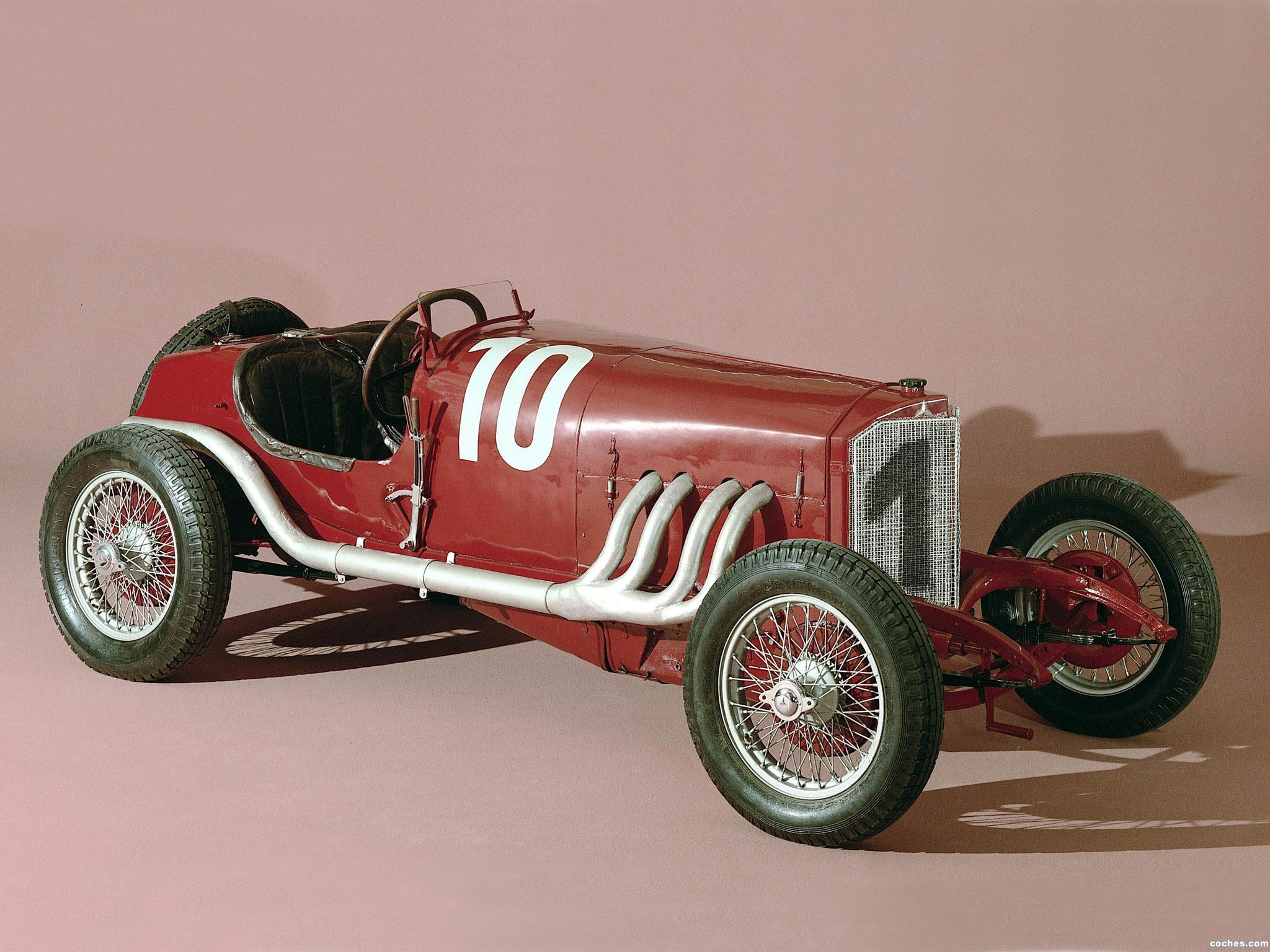 Foto 0 de Mercedes 120 HP Targa Florio Race Car 1924