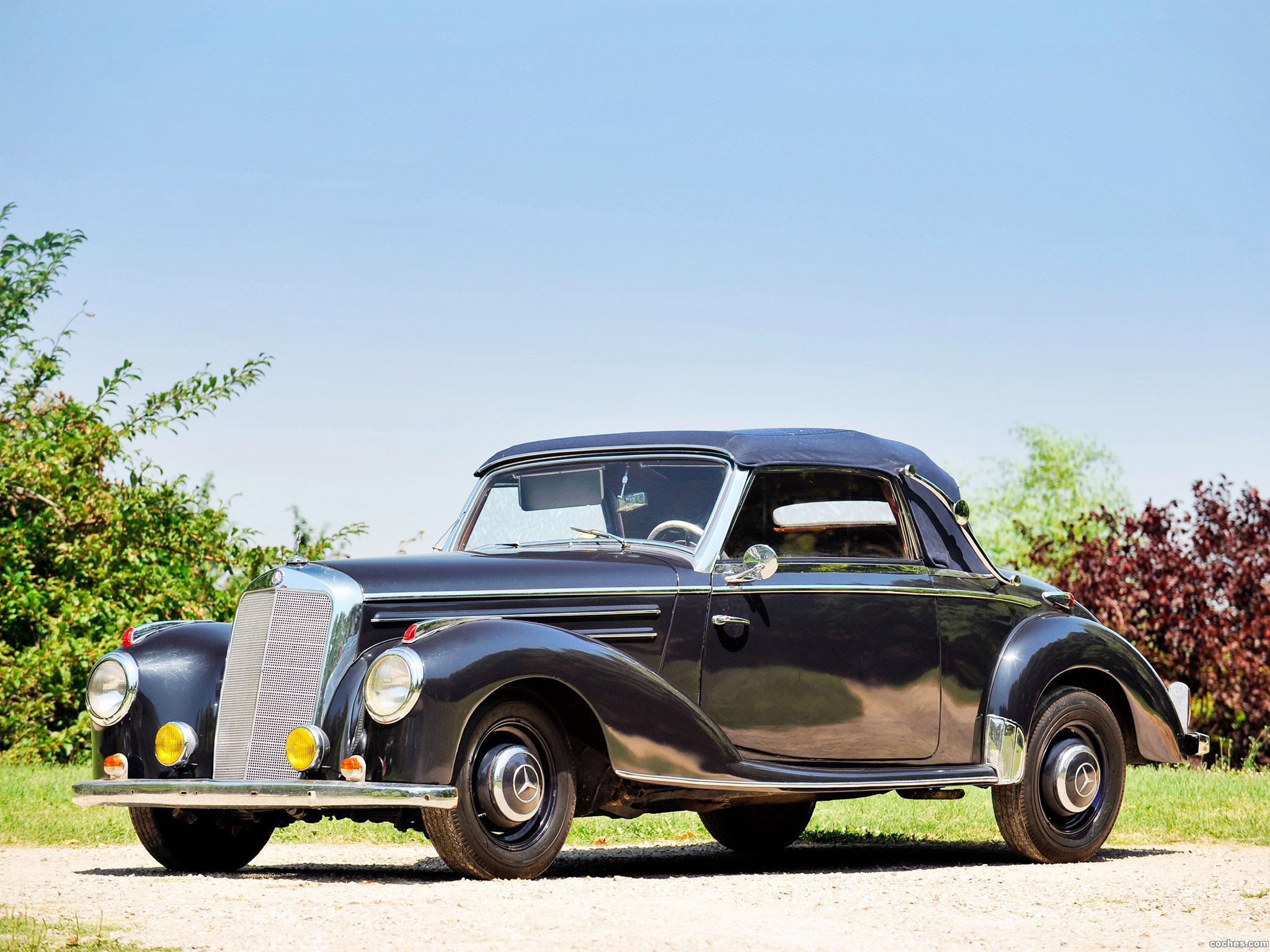 Foto 0 de Mercedes 220 Cabriolet A W187 1951