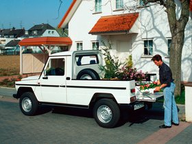 Ver foto 2 de Mercedes Clase G 290 GD Pickup W461 1992