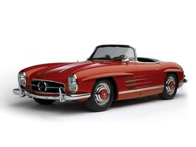 Fotos de Mercedes 300 SL R198 1957