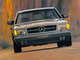 Fotos de Mercedes Clase S 560SEC Coupe USA C126 1985