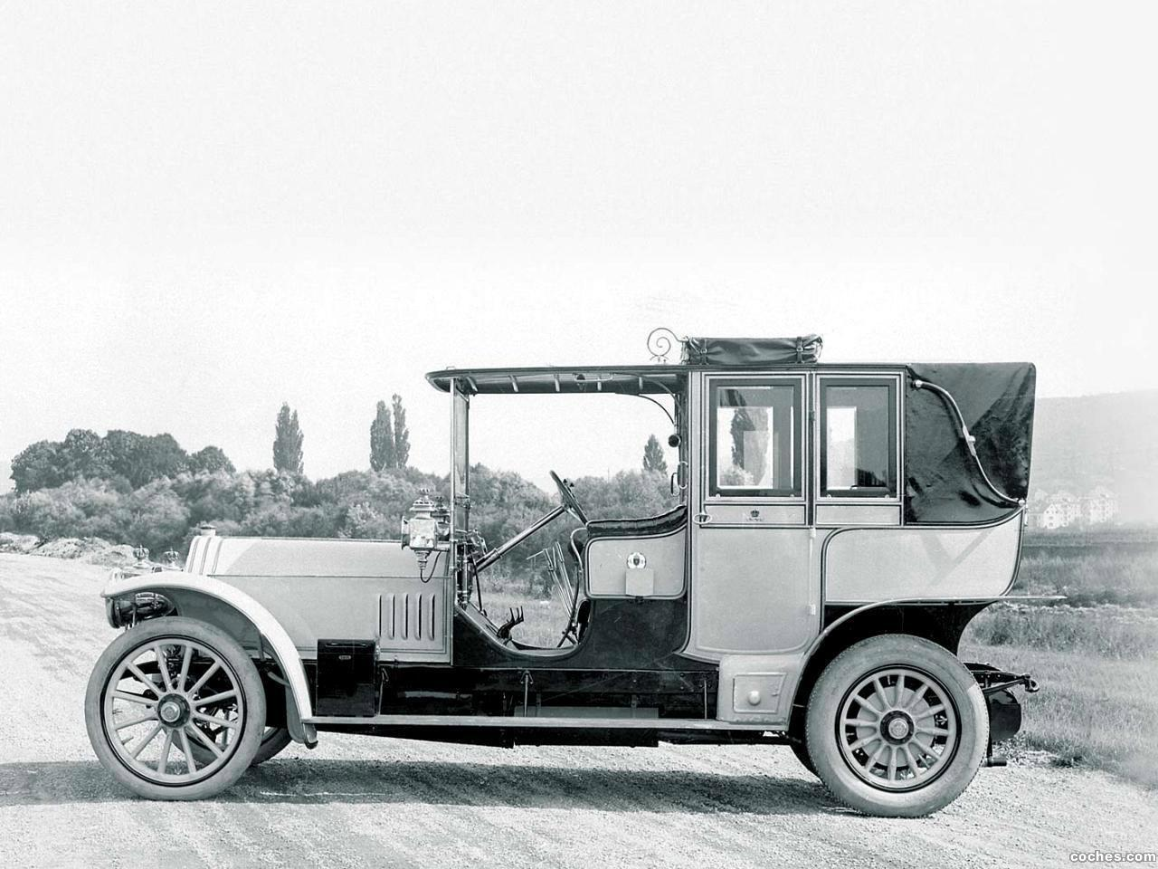 Foto 0 de Mercedes 75 HP Double Phaeton 1908
