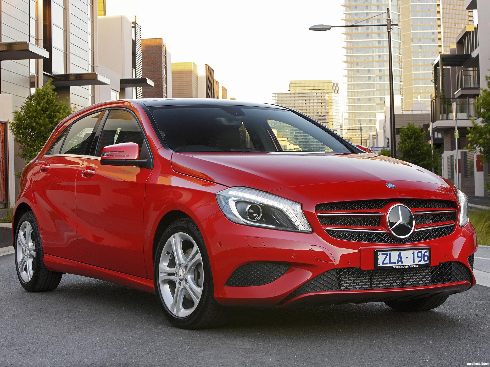 Foto 0 de Mercedes Clase A A180 W176 Australia 2012