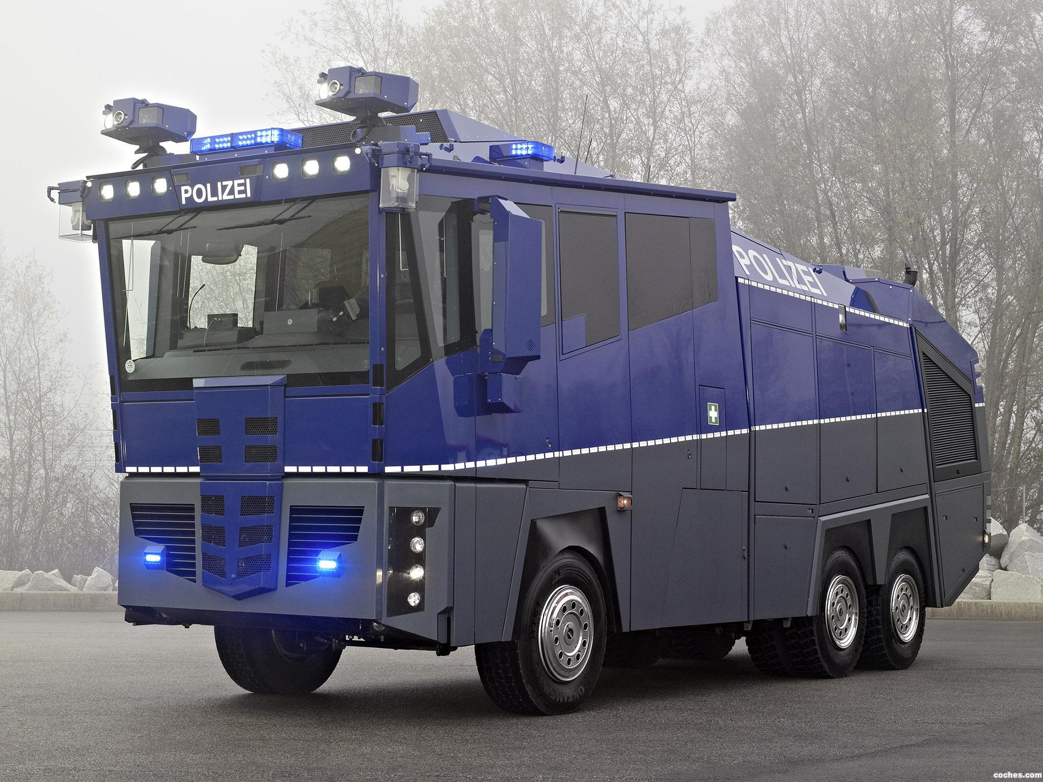 Foto 0 de Mercedes Actros 3341 6x6 Police Water Cannon 2009
