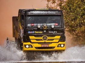Ver foto 3 de Mercedes Atego 1725 Rally Truck 2014