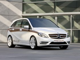 Fotos de Mercedes Clase B E-CELL Plus Concept W246 2011