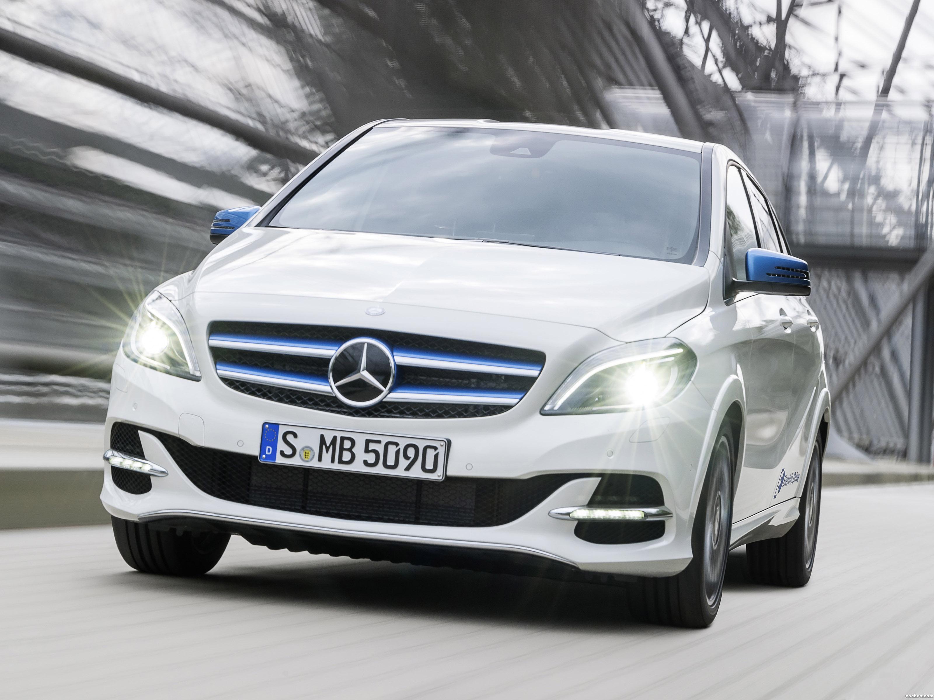 Foto 0 de Mercedes Clase B Electric Drive 2015