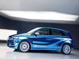 Fotos de Mercedes Clase B Electric Drive Concept W246 2012
