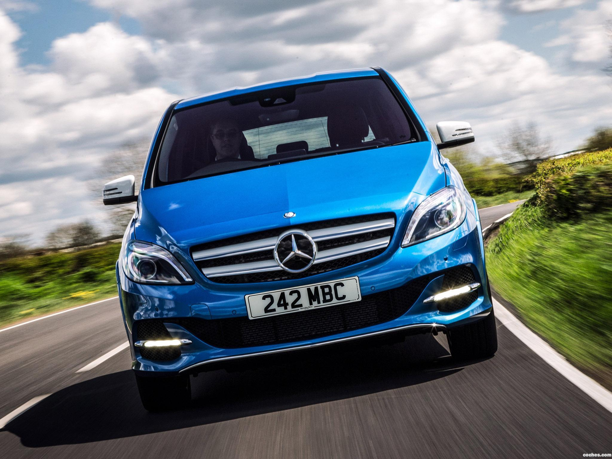 Foto 8 de Mercedes Clase B Electric Drive W242 UK 2015