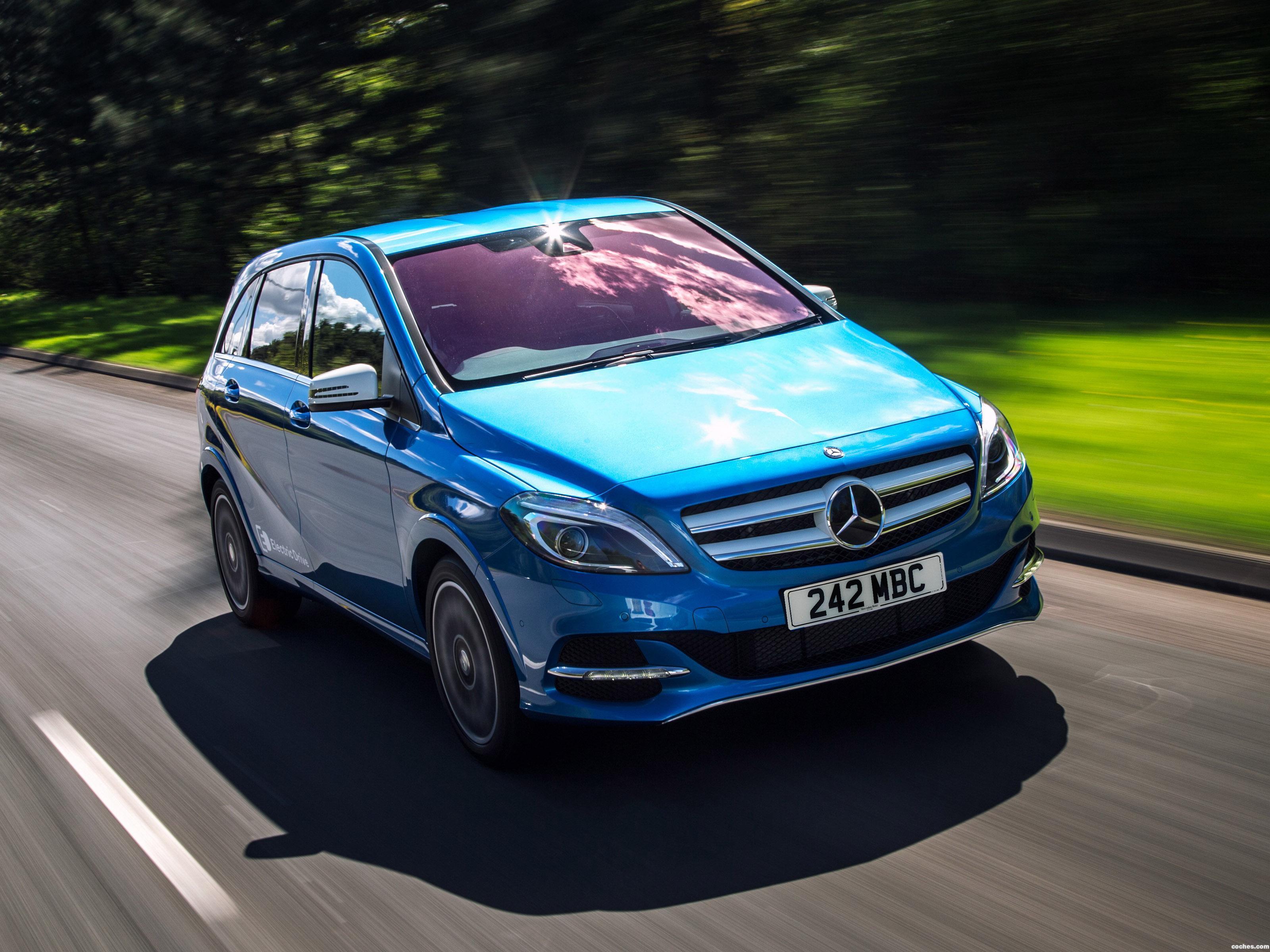 Foto 6 de Mercedes Clase B Electric Drive W242 UK 2015