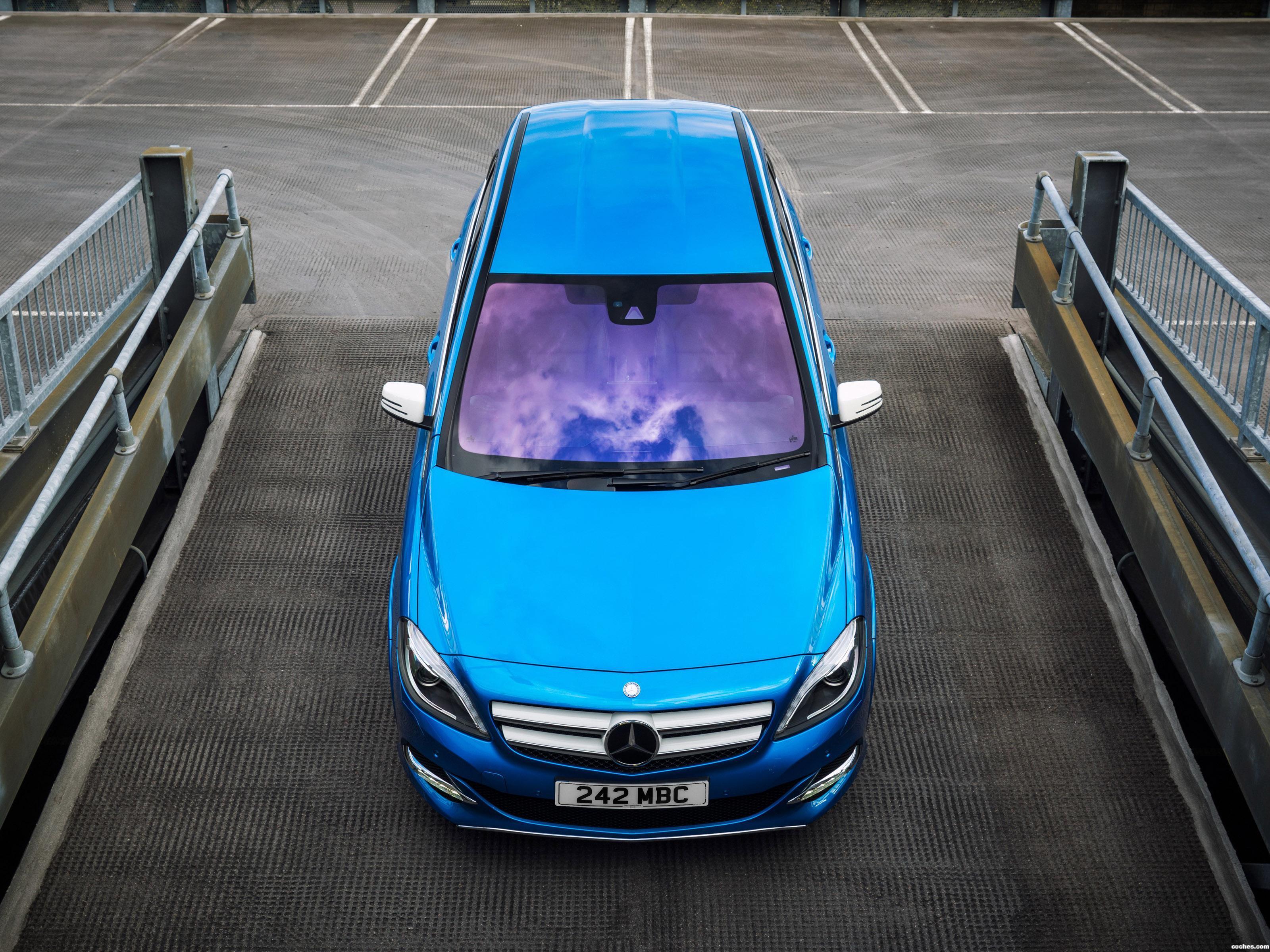 Foto 0 de Mercedes Clase B Electric Drive W242 UK 2015