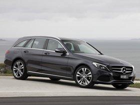 Ver foto 4 de Mercedes Clase C C200 Avantgarde Line Estate S205 Australia 2014