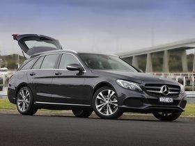 Ver foto 3 de Mercedes Clase C C200 Avantgarde Line Estate S205 Australia 2014