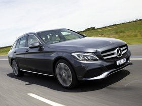 Fotos de Mercedes Clase C C200 Avantgarde Line Estate S205 Australia 2014