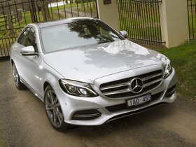 Fotos de Mercedes Clase C C200 Avantgarde Line W205 Australia 2014