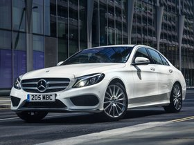 Fotos de Mercedes Clase C C220 Bluetec AMG Line W205 UK 2014