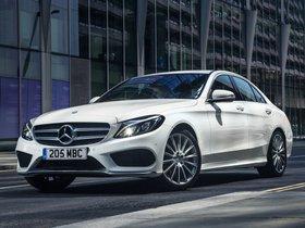 Fotos de Mercedes Clase C C220 Bluetec AMG Line W205 UK 2014