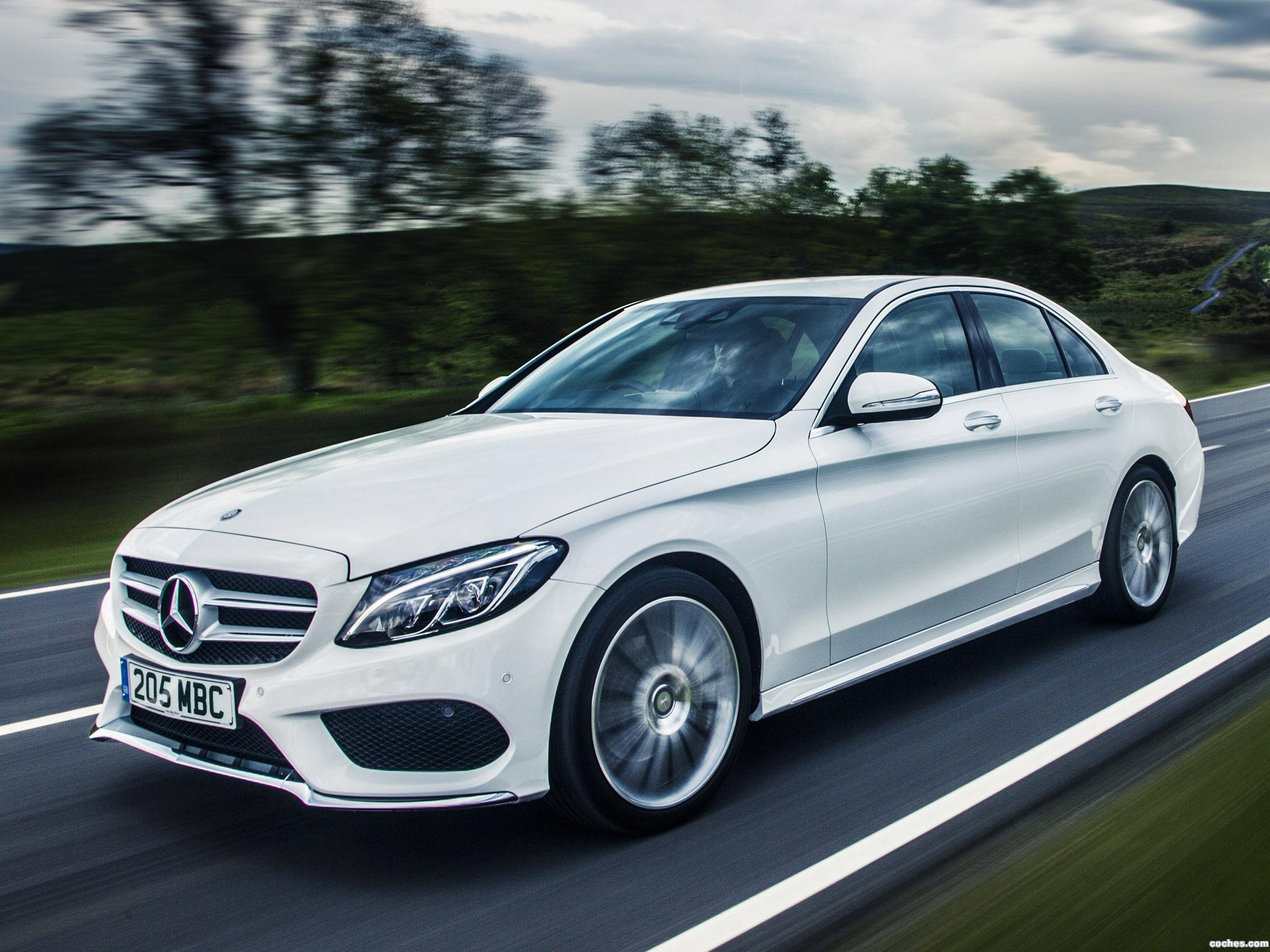 Fotos de mercedes clase c c220 bluetec amg line w205 uk - Mercedes c class coupe 2014 ...