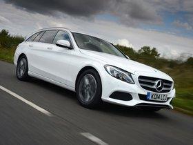 Fotos de Mercedes Clase C C220 Bluetec Estate S205 UK 2014