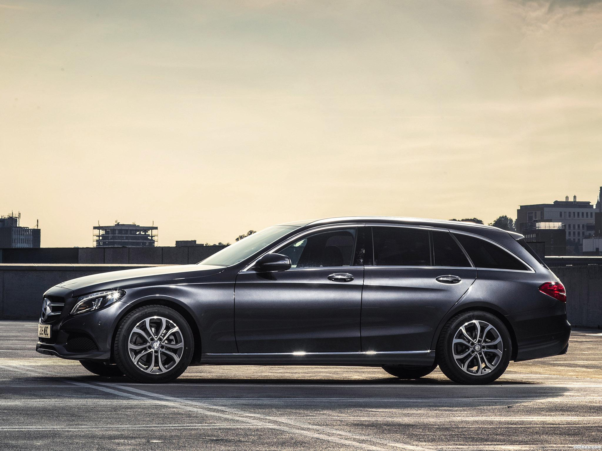 Foto 9 de Mercedes Clase C C220 Bluetec SE Estate S205 UK 2014