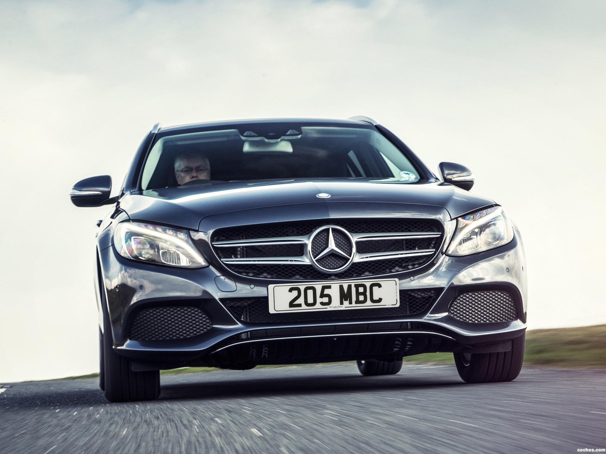 Foto 7 de Mercedes Clase C C220 Bluetec SE Estate S205 UK 2014