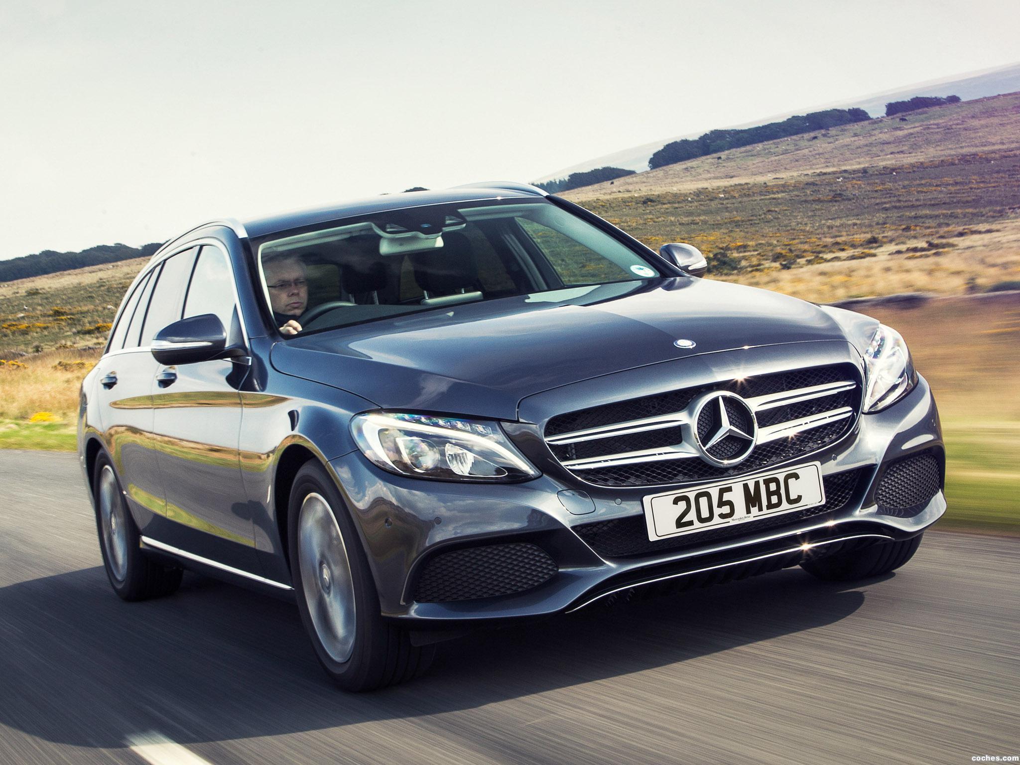 Foto 5 de Mercedes Clase C C220 Bluetec SE Estate S205 UK 2014