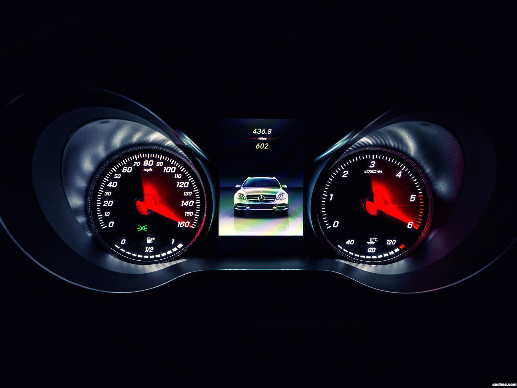 Foto 17 de Mercedes Clase C C220 Bluetec SE Estate S205 UK 2014