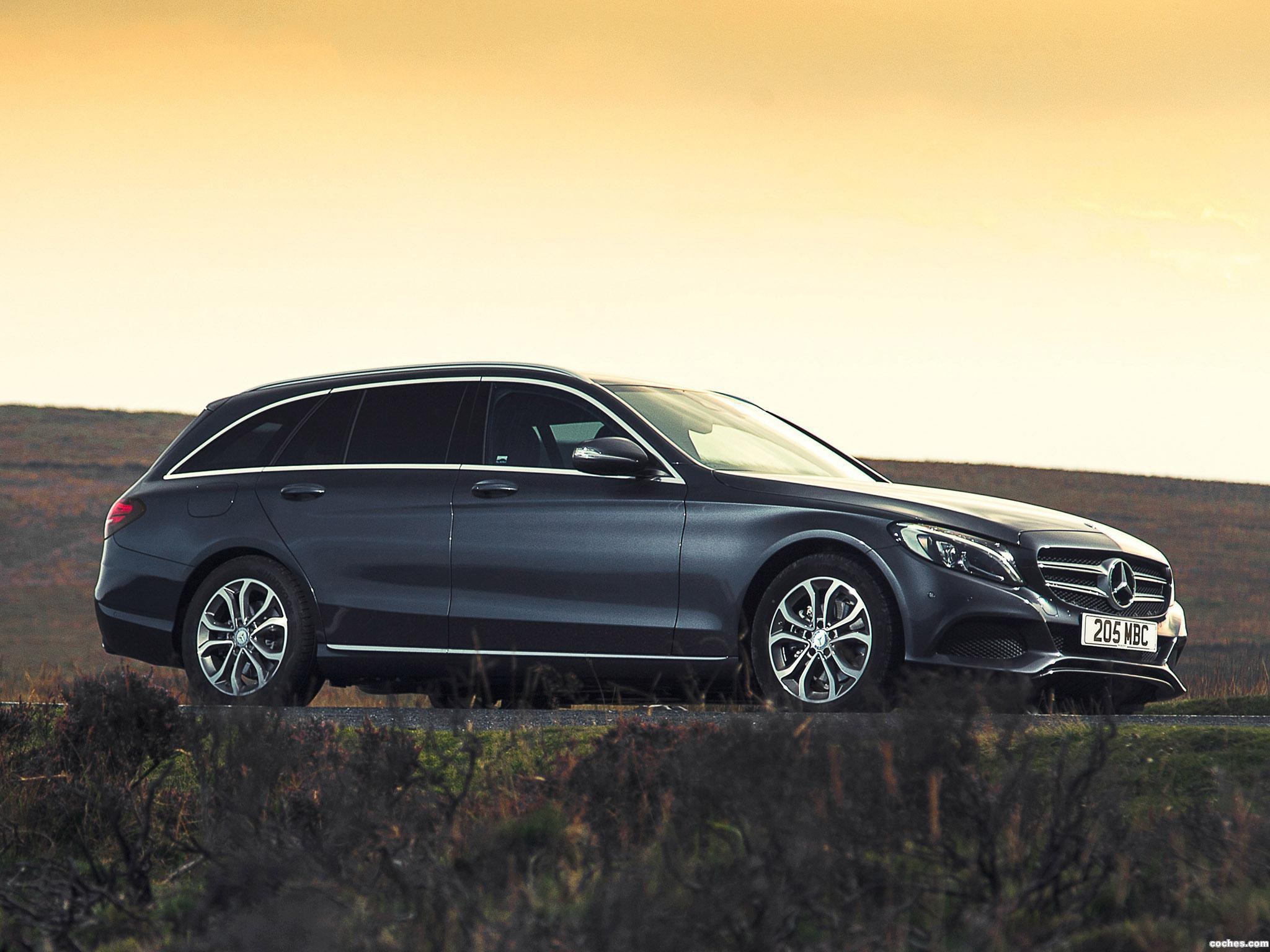 Foto 16 de Mercedes Clase C C220 Bluetec SE Estate S205 UK 2014