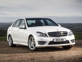Fotos de Mercedes Clase C C220 CDI AMG Sport Edition W204 UK 2013