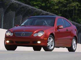 Ver foto 2 de Mercedes Clase C C230 Kompressor Sportcoupe C203 USA 2001